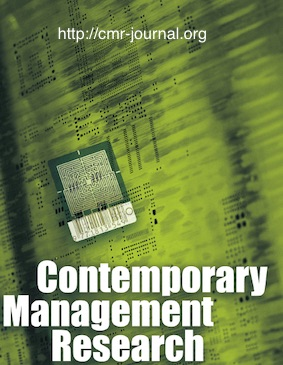 Contemporary Management Research